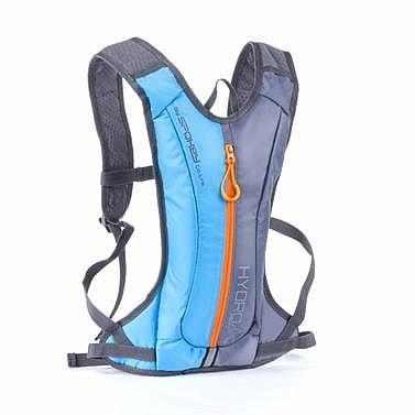 45d6dfe86d Spokey HYDRO - Cyklistický a běžecký batoh 2l šedo modrý