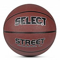 Basketbalový míč Select Basketball Street hnědá
