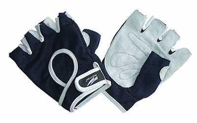 Spokey ZOE II Dámské Fitness rukavice bílo-tyrkysové vel. S-L ... af837db3a3